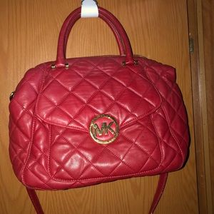 MK authentic red purse